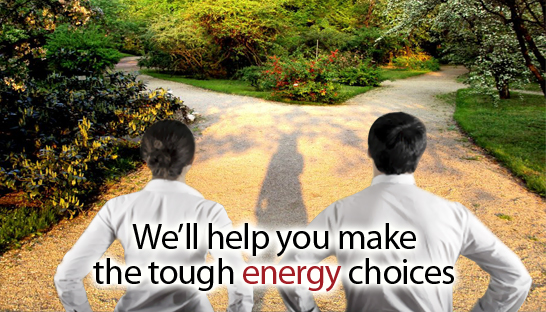 Ameri-tec will help you make the tough energy choices