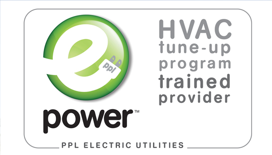 PPL HVAC tune-up program trained provider