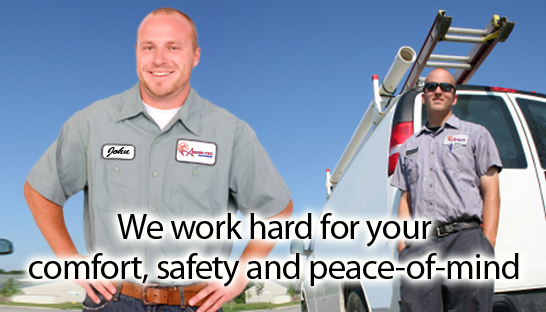 We work hard for your comfort, safety and peace of mind